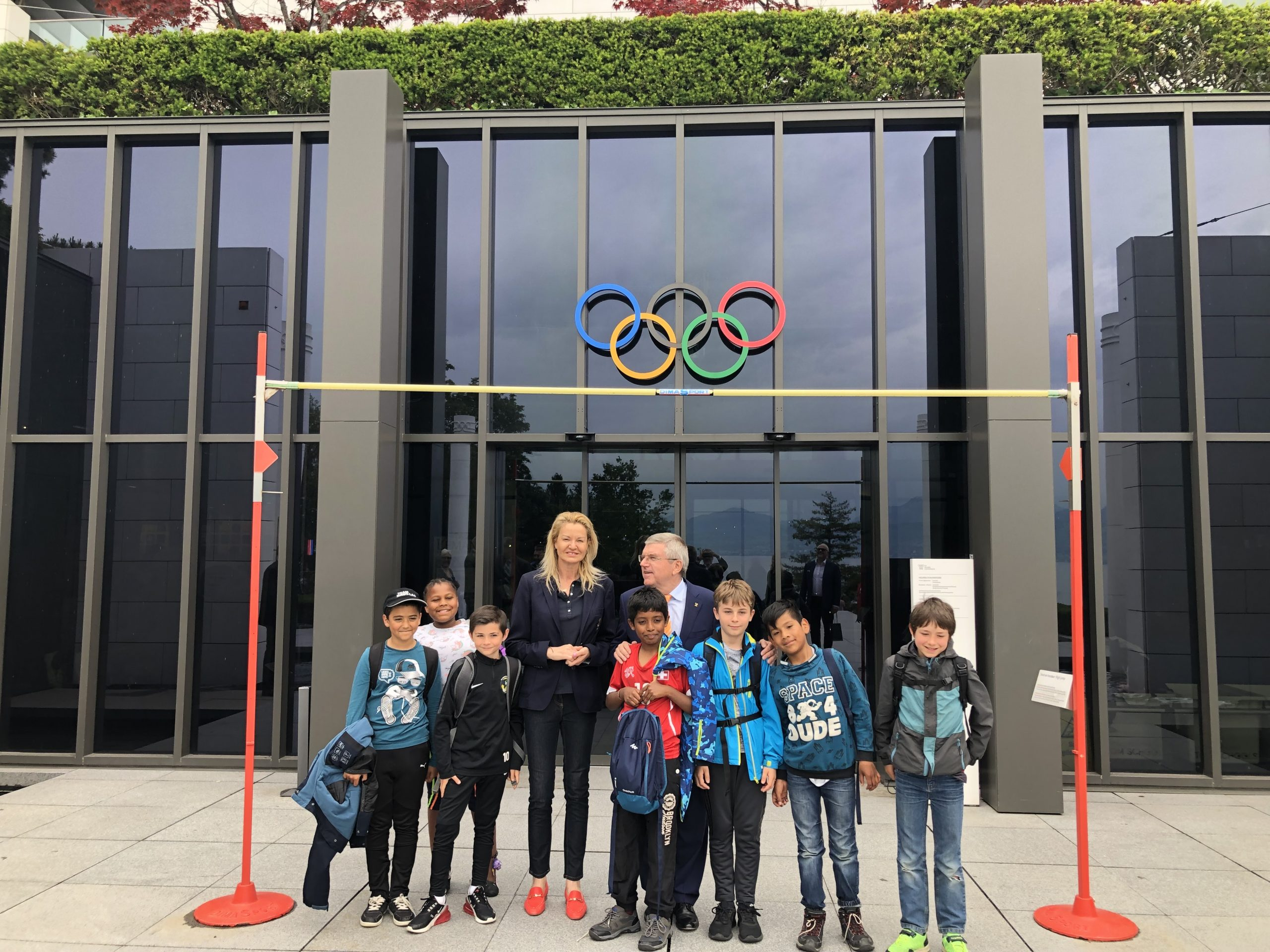 OLYMPIC MUSEUM MAIN ENTRY 209 BAR
