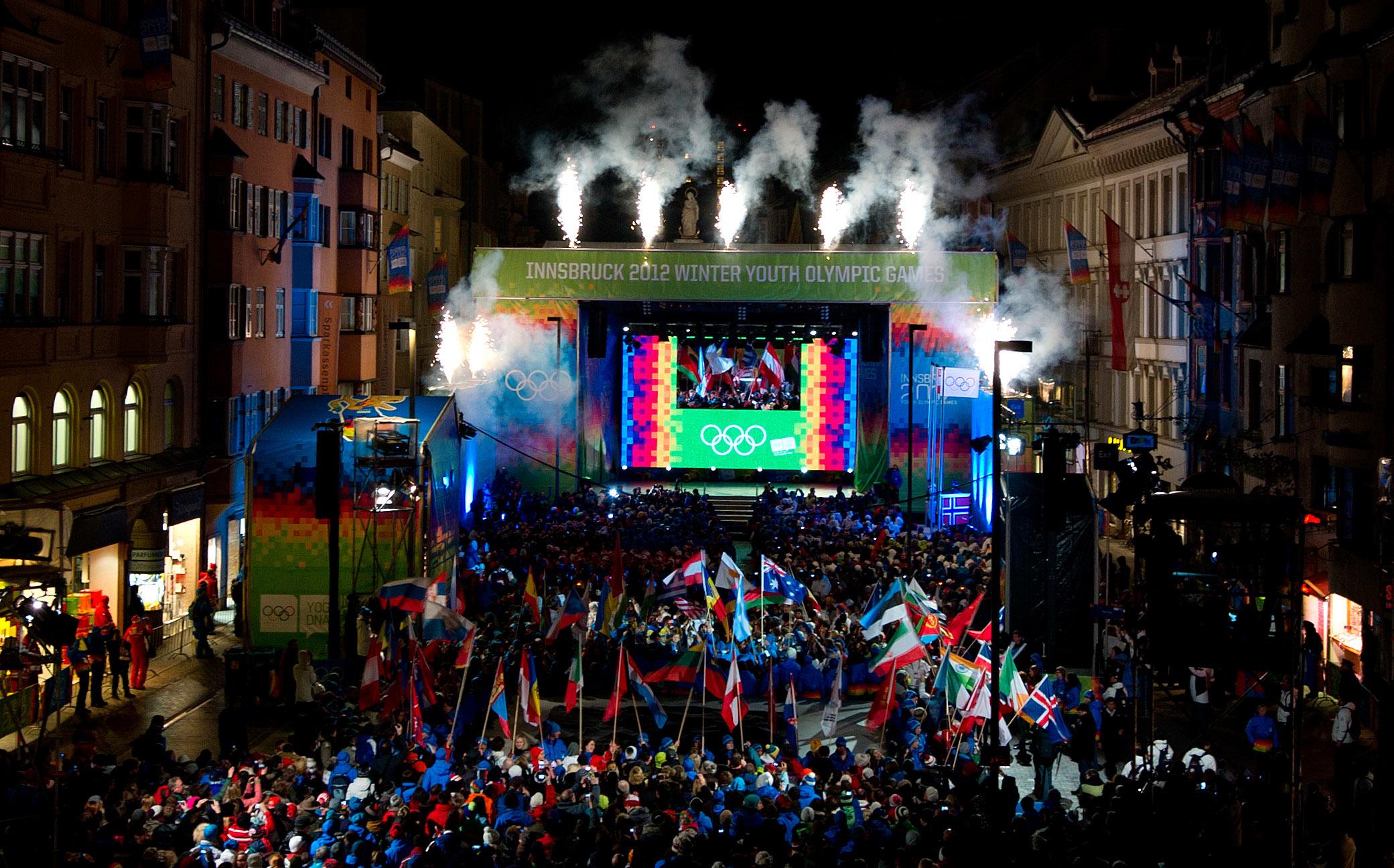 OLYMPIA – YOG 2012, Schlussfeier